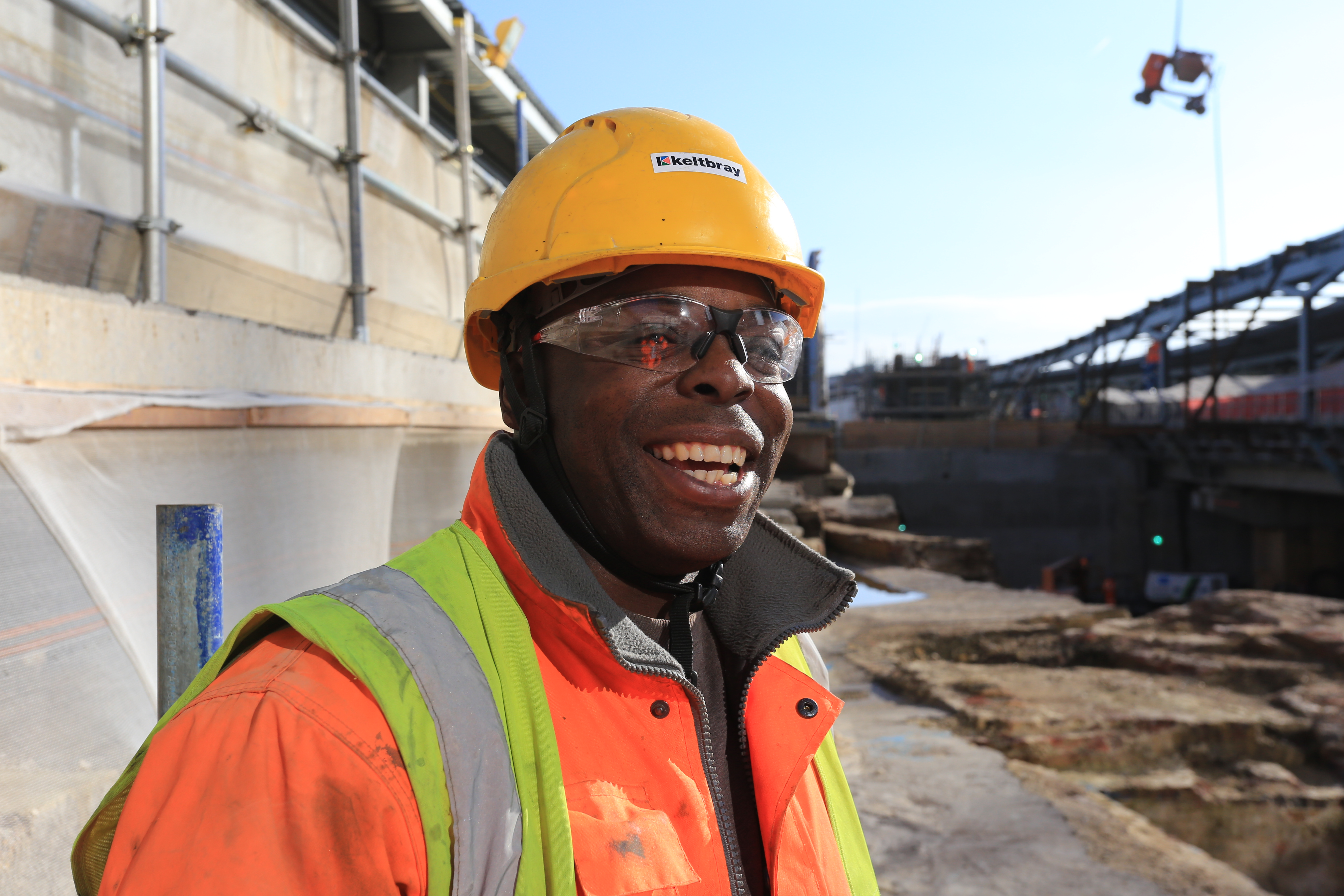 Construction employee at Costain