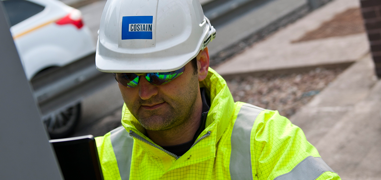 Costain Engineer working