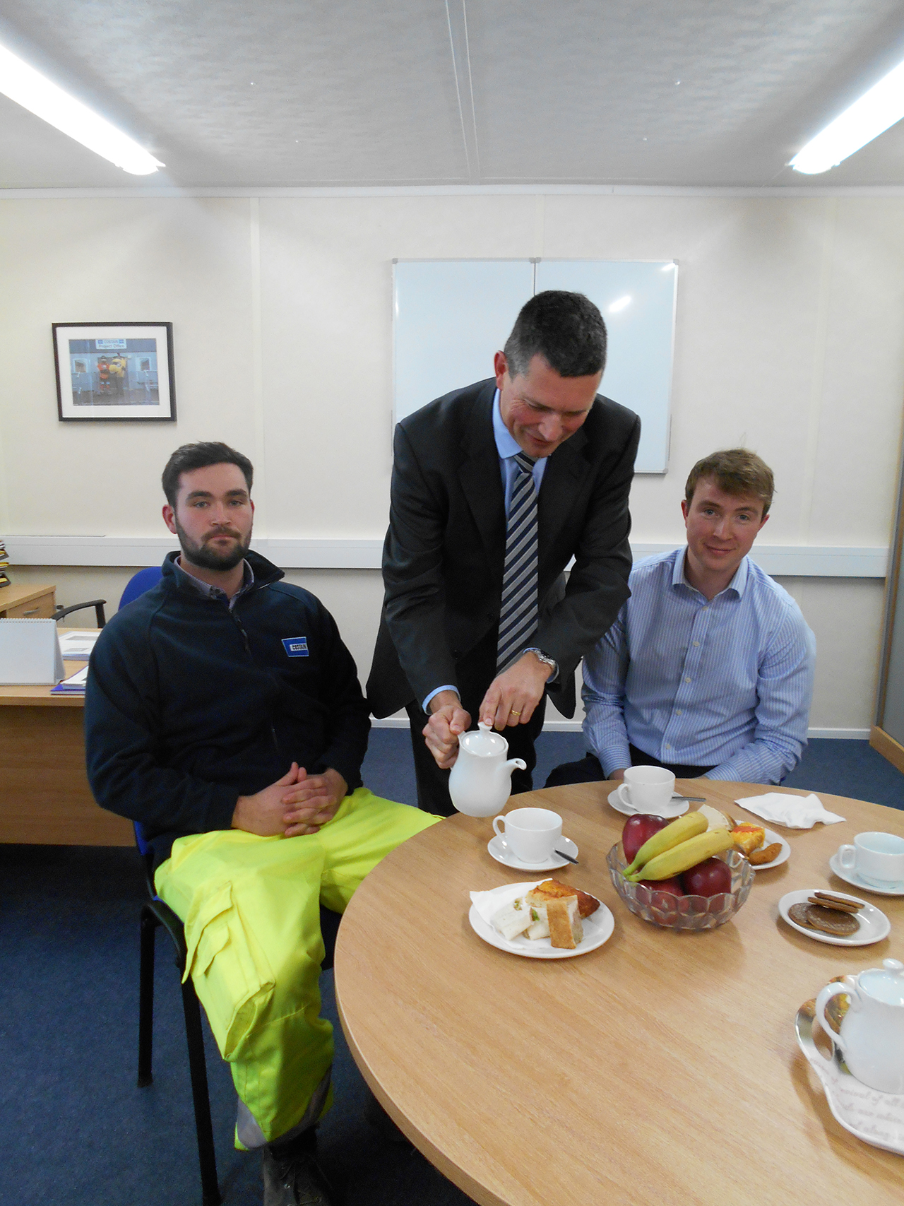 Ceo Does Tea For Two Andrew Wyllie 150 Challenge