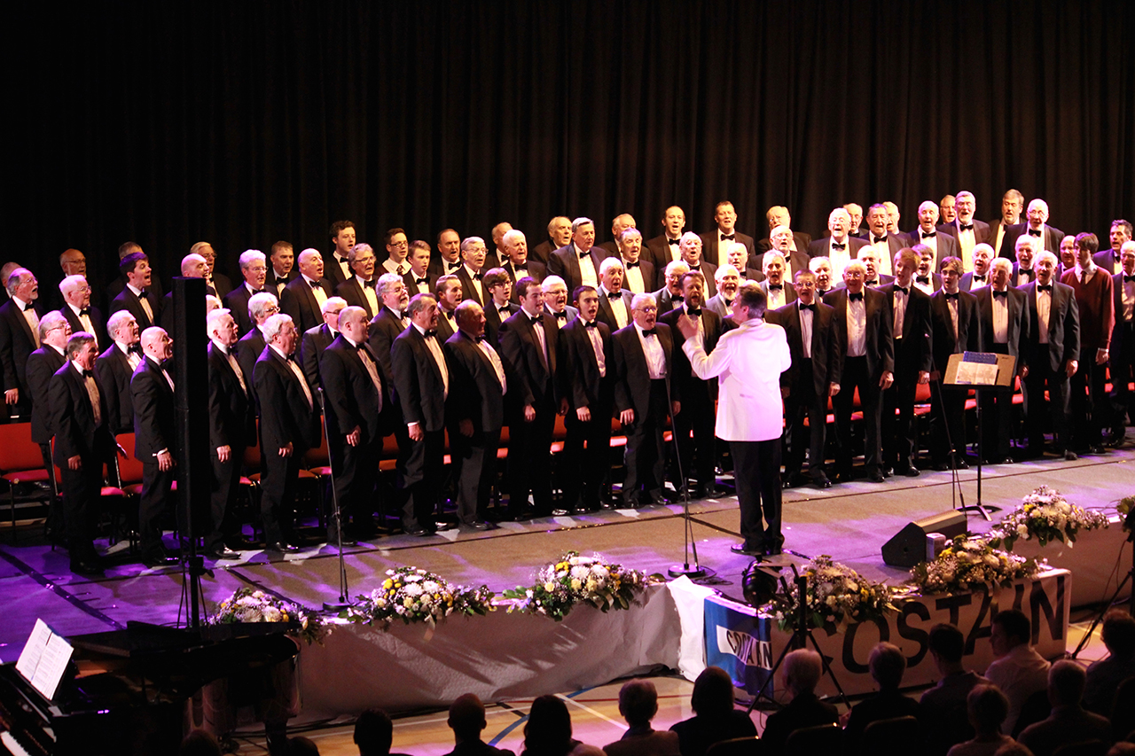 Pendyrus Male Choir, Darren James