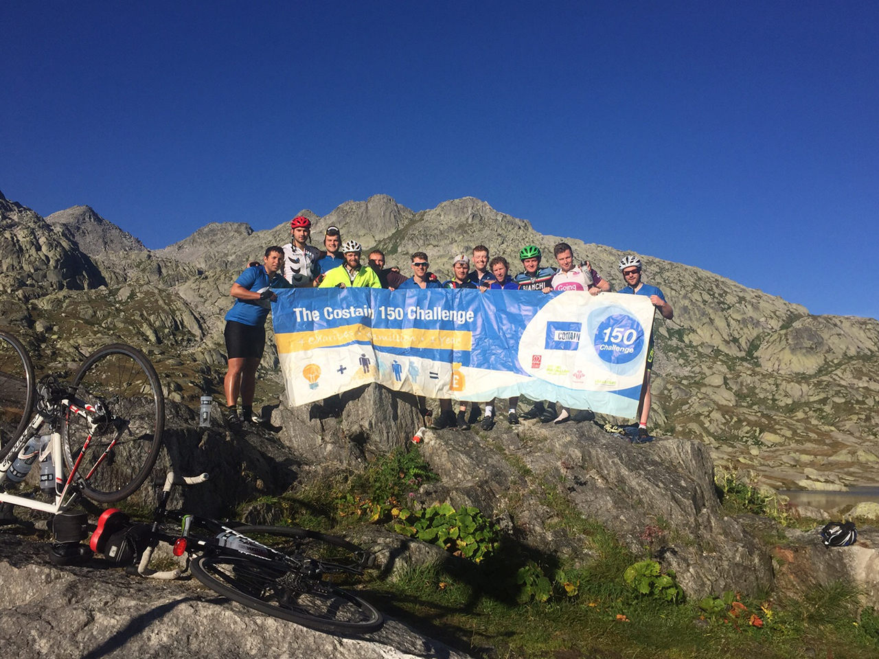 London-Rome Cyclists Complete Epic Challenge