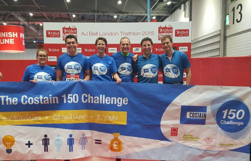 Costain 150 Challenge_London Triathlon
