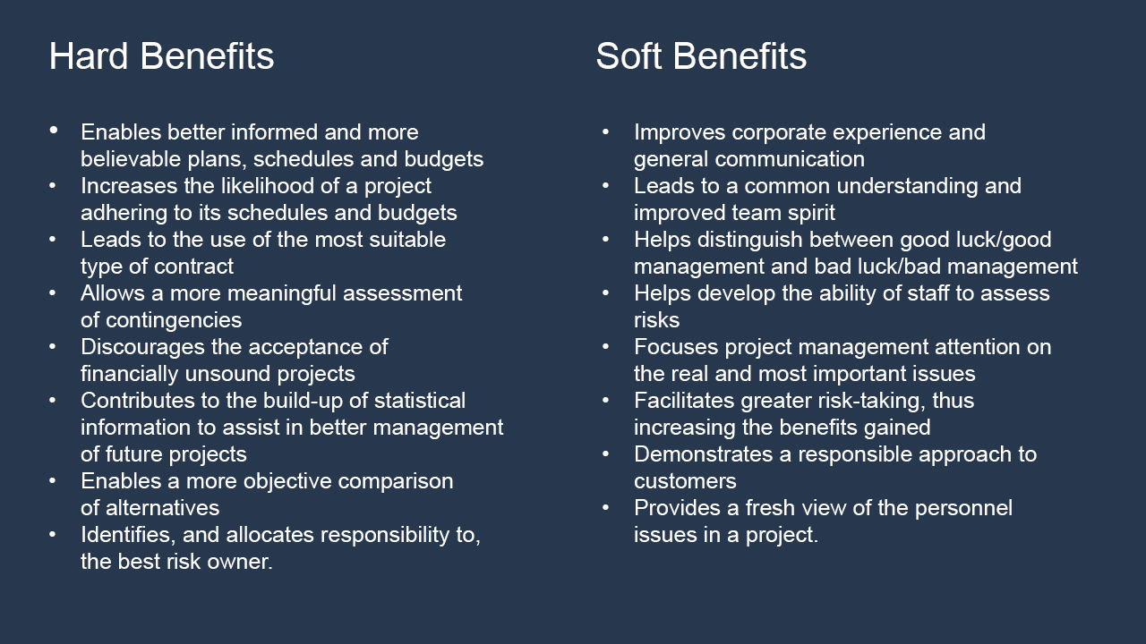 Hard and Soft Benefits - Balancing Portfolio Performance