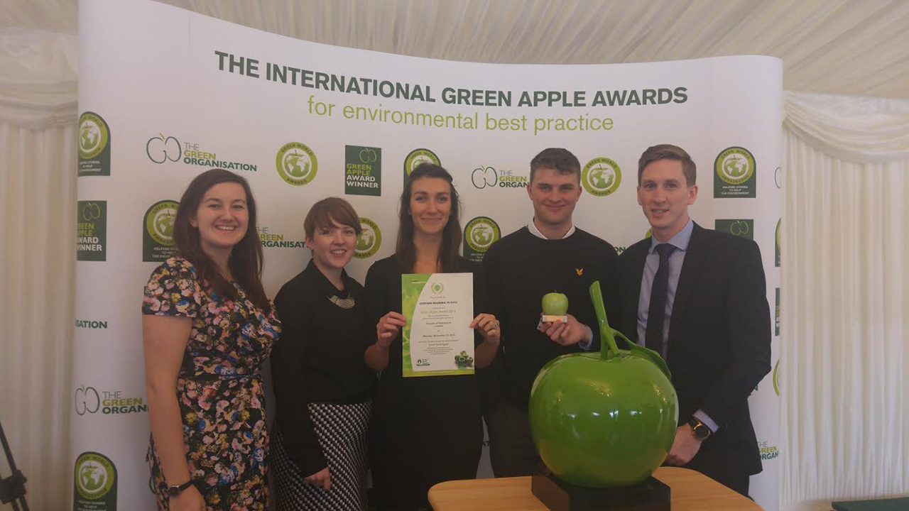 CSJV Wins Environmental Award