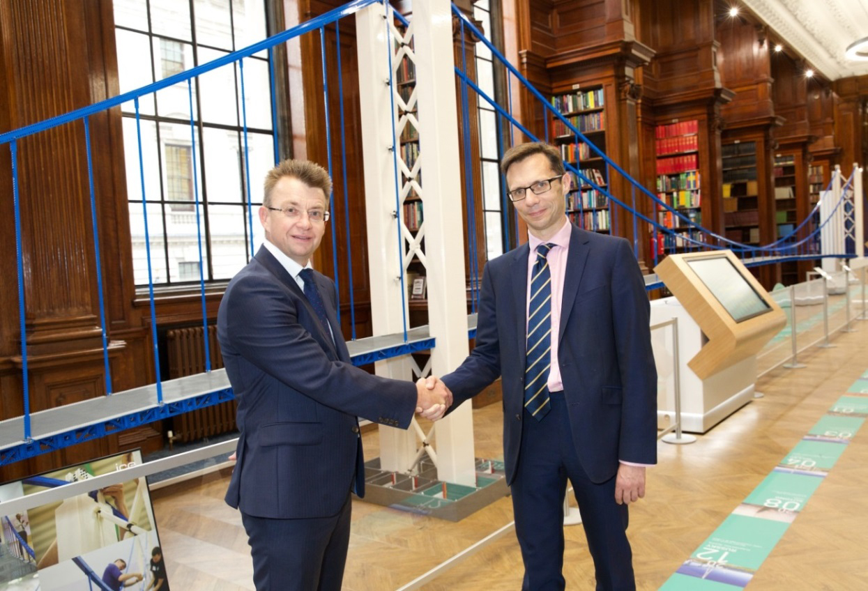Costain Helps Support Guinness World Record-Breaking LEGO Bridge