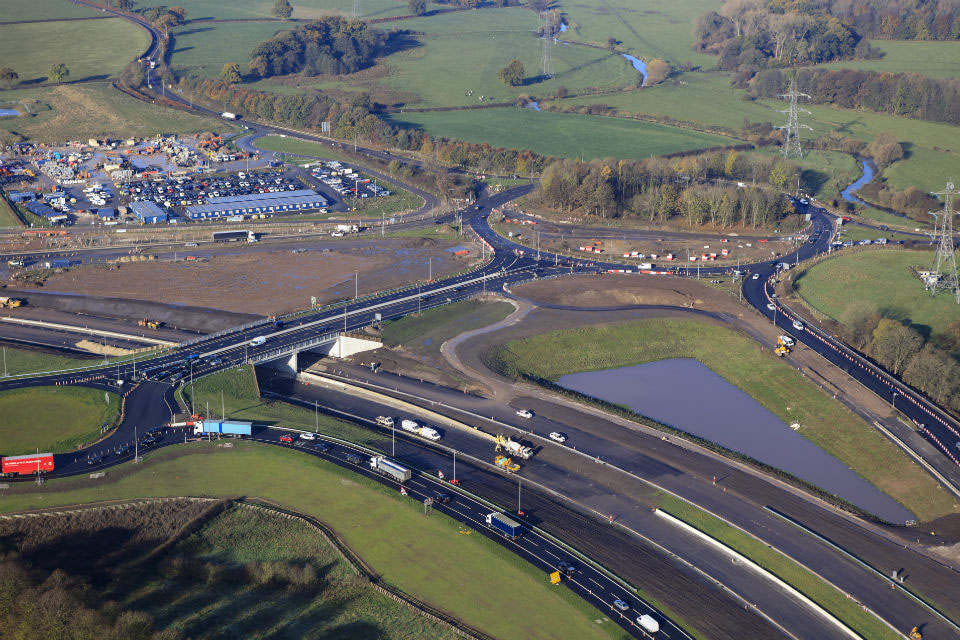 Major Milestone Reached On The A556