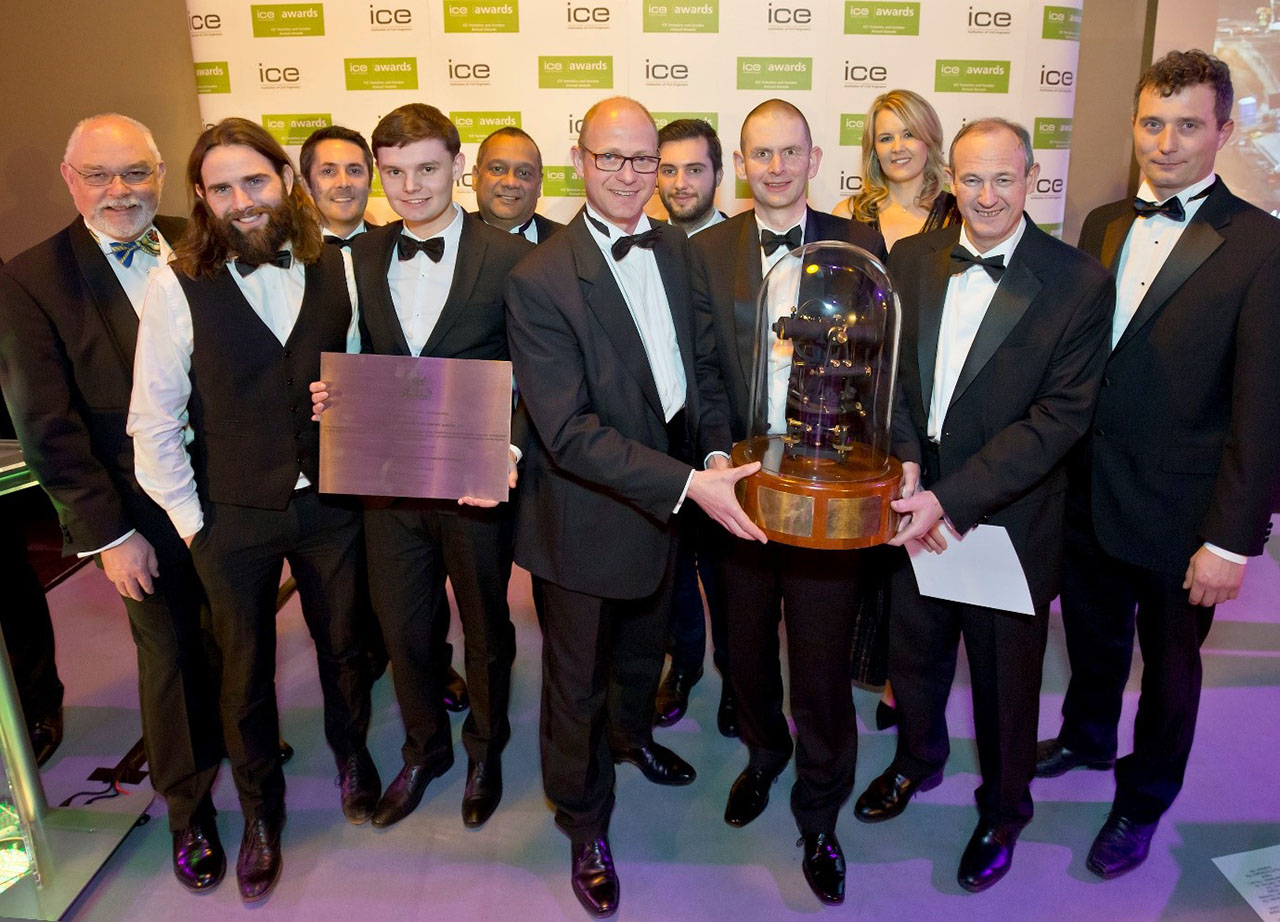 Highways Project Wins ICE Centenary Award