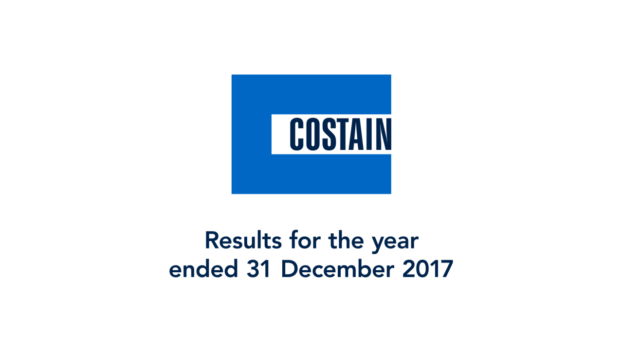 Results for the year ended 31 December 2017