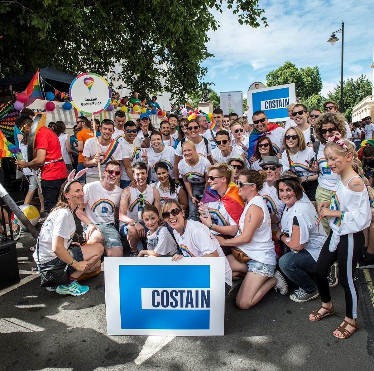 Costain at London Pride 2017