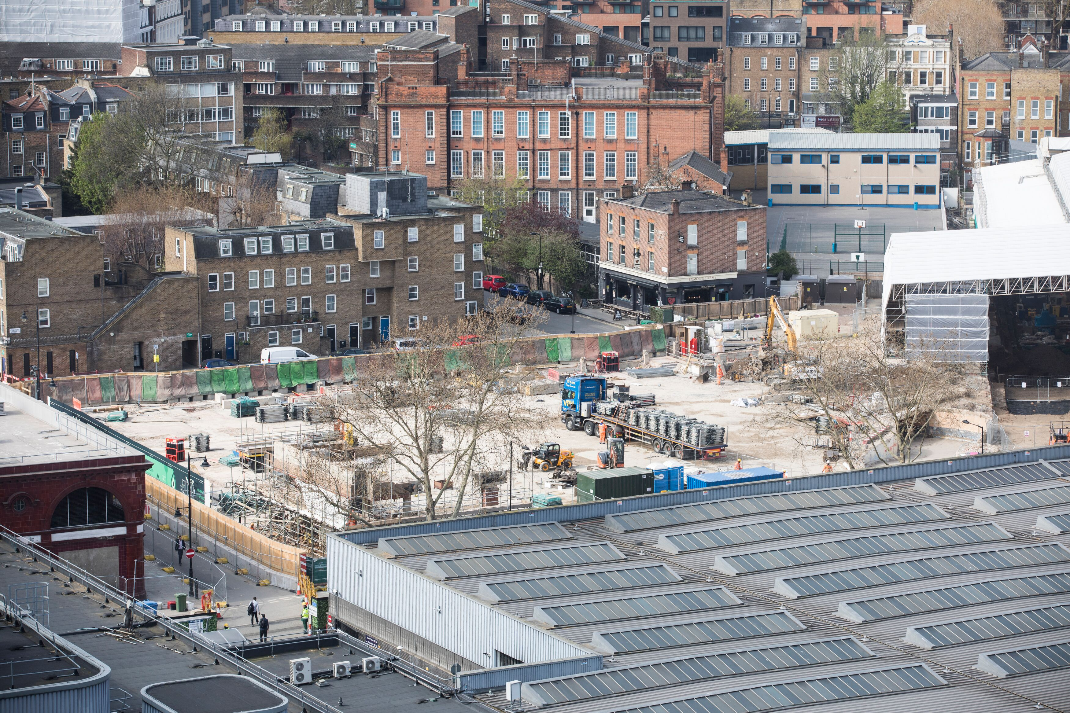 Progress at Euston as HS2 completes key demolitions on site of London's new high speed station