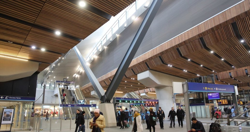 London Bridge station named building of the year